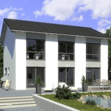 Stadtvilla bauunternehmer schob for Stadtvilla zweifamilienhaus