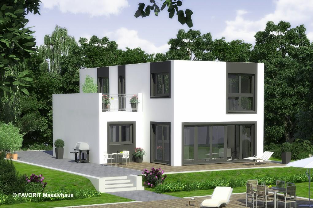 concept design 144 stilvoller hausbau mit dachterrasse. Black Bedroom Furniture Sets. Home Design Ideas