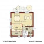 Creativ Sun 116 Erdgeschoss Grundriss 1020x680pxl