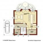 Creativ Sun 132 Erdgeschoss Grundriss 1020x680pxl