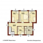 Creativ Sun 215 Obergeschoss Grundriss 1020x680pxl