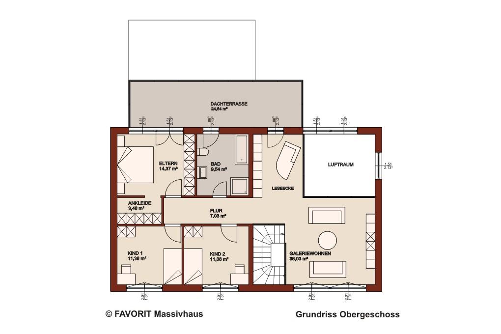 premium 171 78 obergeschoss grundriss 1020x680pxl bauunternehmer schob. Black Bedroom Furniture Sets. Home Design Ideas