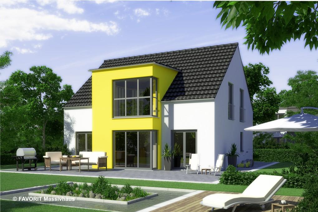 Select 134 das haus mit sonnenecke bauunternehmer schob for Haus mit erker modern